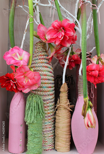 Handmade flower decoration