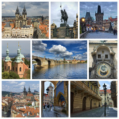 Collage from Prague