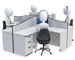 3d man support center