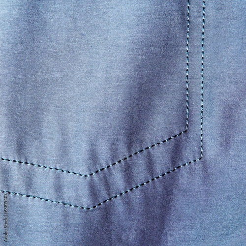 Jeans with seam texture background