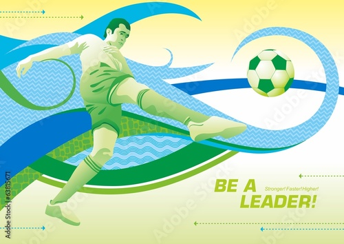 be a leader_Football