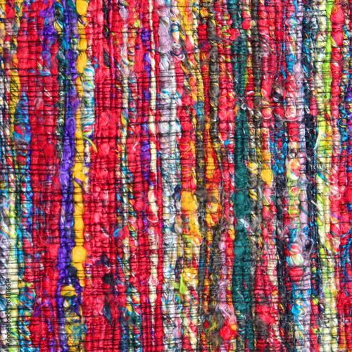 Tapis indien - fibres recyclés