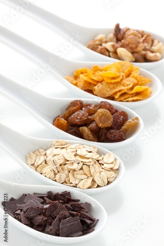 Muesli ingredients
