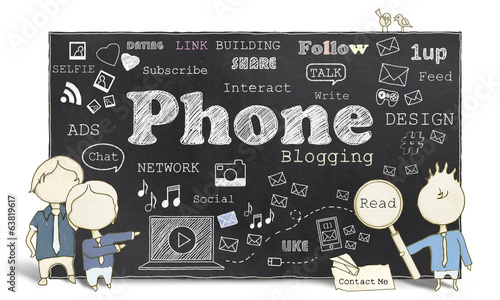 Social Media with Phone Blogging