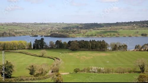 Blagdon Lake Somerset Somerset England UK