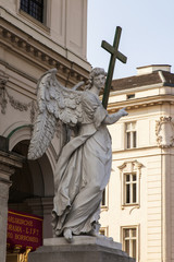 Vienna, Austria. Karlskirkhe