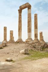Temple of Hercules on the Amman citadel, Jordan
