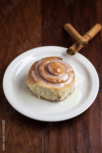 Fresh Cinnamon Roll