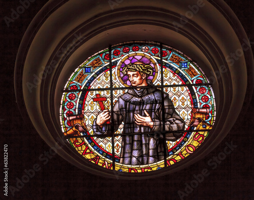 Saint John of God Stained Glass Basilica Cathedral Granada