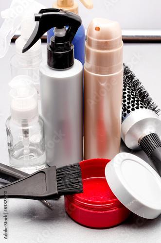 gel, hairbrush and hair balms - 63823210