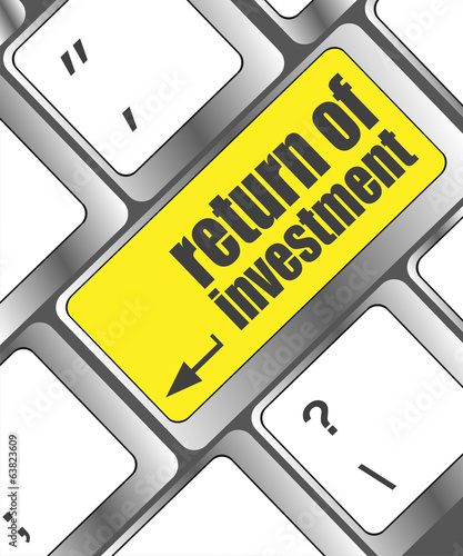 invest  with a message on enter key or keyboard