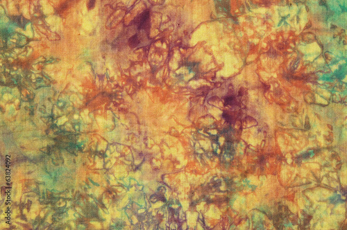 Colorful cotton batik