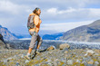 Woman tourist, Iceland - 63824495