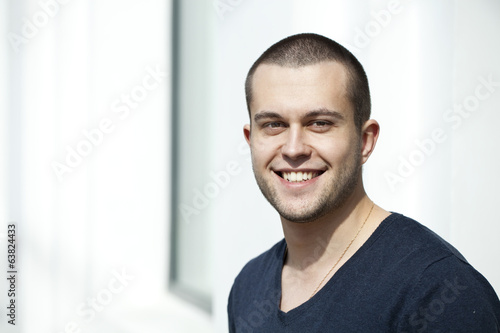 canvas print picture Young attractive man
