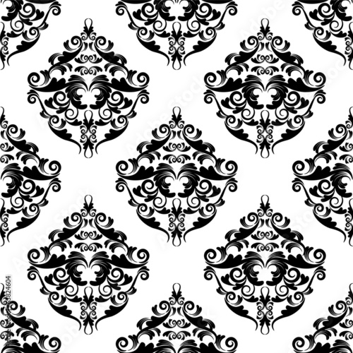 seamless wallpaper. vintage pattern.flower background