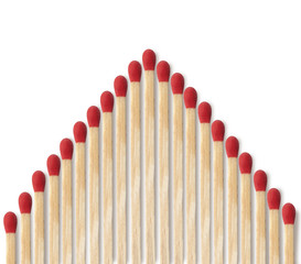 Close-up of a red match
