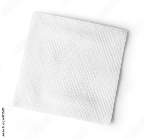 White Square Bar Napkin