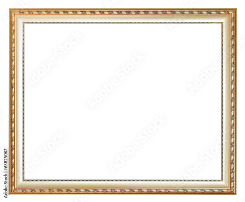 ancient silver classic wooden picture frame