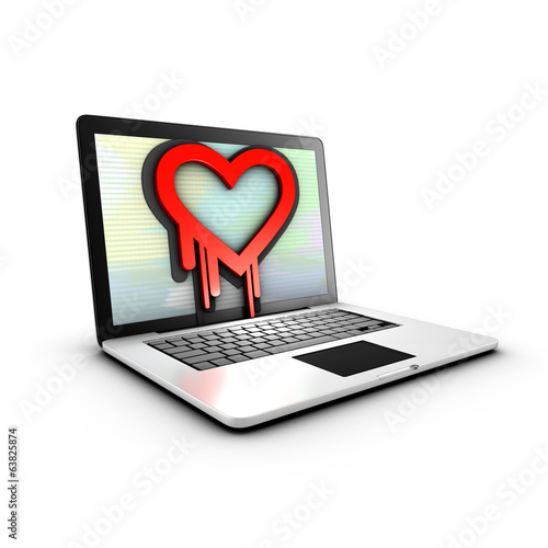 The Heartbleed vulnerability in cryptographic software library