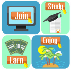 Concept of online education