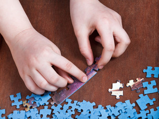 linking of jigsaw puzzles