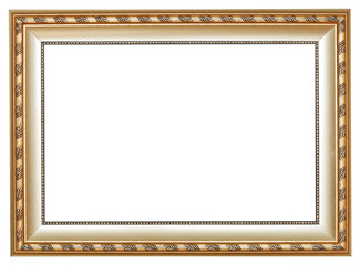 ancient silver classic wide wooden picture frame