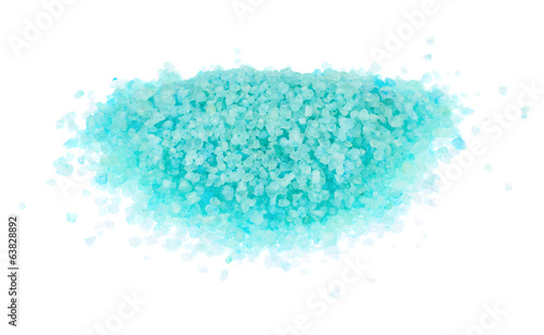 Pile of salt crystals