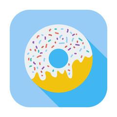 Donut flat icon