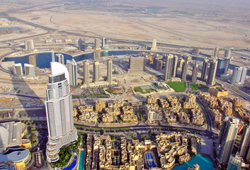 Dubai top view