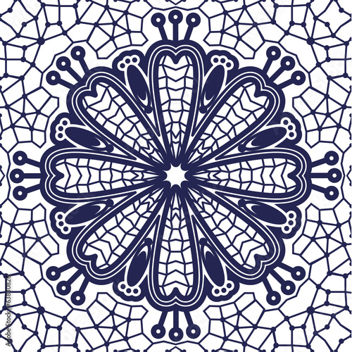 Seamless luxury pattern lace