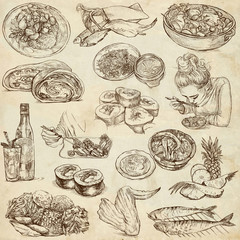 Food and Drinks around the World (paper set no. 5)