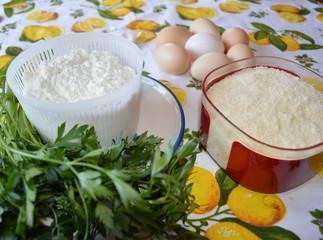 Ricotta, uova e formaggio