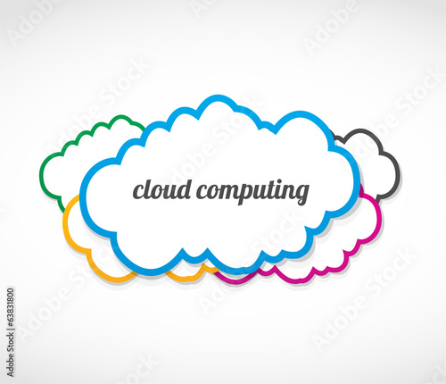 cloud computing stickers
