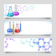 Chemical laboratory banners