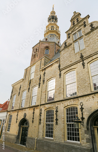 Famous Town Hall of Zierikzee, Zeeland, The Netherlands