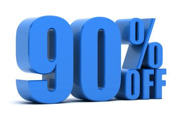 90 percent off