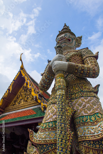 Giant of wat Phra Kaew