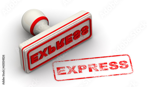 Express. Seal and imprint