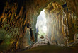 Leinwanddruck Bild - One of the most beautiful caves of Borneo Gomantong