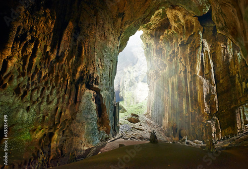 One of the most beautiful caves of Borneo Gomantong - 63835499