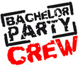 Bachelor Party Crew Stempel Design