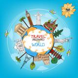 travel landmarks monuments around world