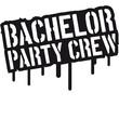 Bachelor Party Crew Graffiti Schild