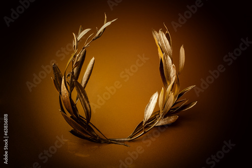 Golden Olive Wreath