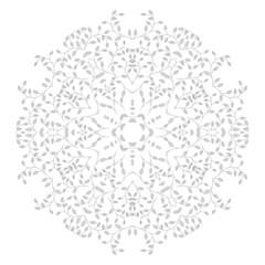 Circle ornament, pattern