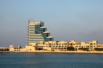 Architecture in Manama, Kingdom of Bahrain, Middle East