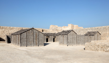 Qal'at al-Bahrain Site Museum. Fort of Bahrain
