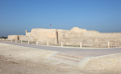 Qal'at al-Bahrain Site Museum. Fort of Bahrain. Middle East