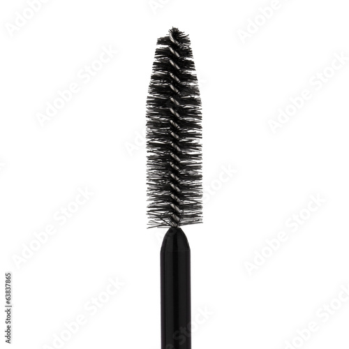 Mascara brush on white background