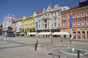 Piazza Ban Jelacic, Zagabria